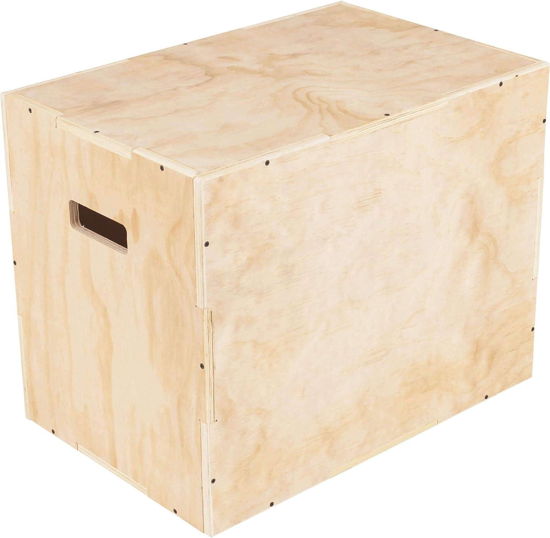 Gorilla Sports® Jump Caja de Madera para plyometrisches Cross de Entrenamiento 60 x 50,5 x 75,5 cm: Amazon.es: Deportes y aire libre