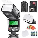 Neewer Pro i-TTL flash Deluxe kit per fotocamera DSLR
