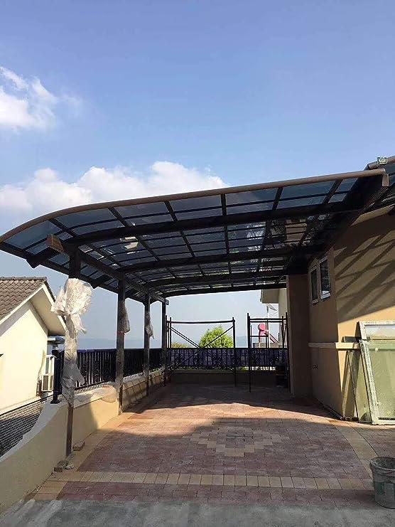 Litesort toldos de Aluminio para Patio y balcón al Aire Libre y también Puede ser Veranda Techo y Porche toldo 15 × 22 pies Fabricado por Marco de Aluminio y Techo de