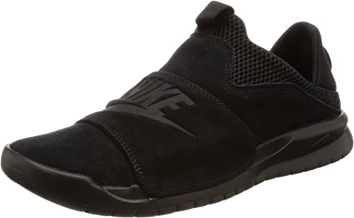 Nike Herren Benassi Slip Shoe, (BlackWhiteGym Red), 47 EU