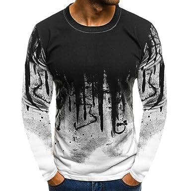 0e64d20ca9 JiaMeng Suéter de Hombre Invierno Manga Larga Suéter Casual Jersey de Punto  Caliente Camiseta Blusa básica