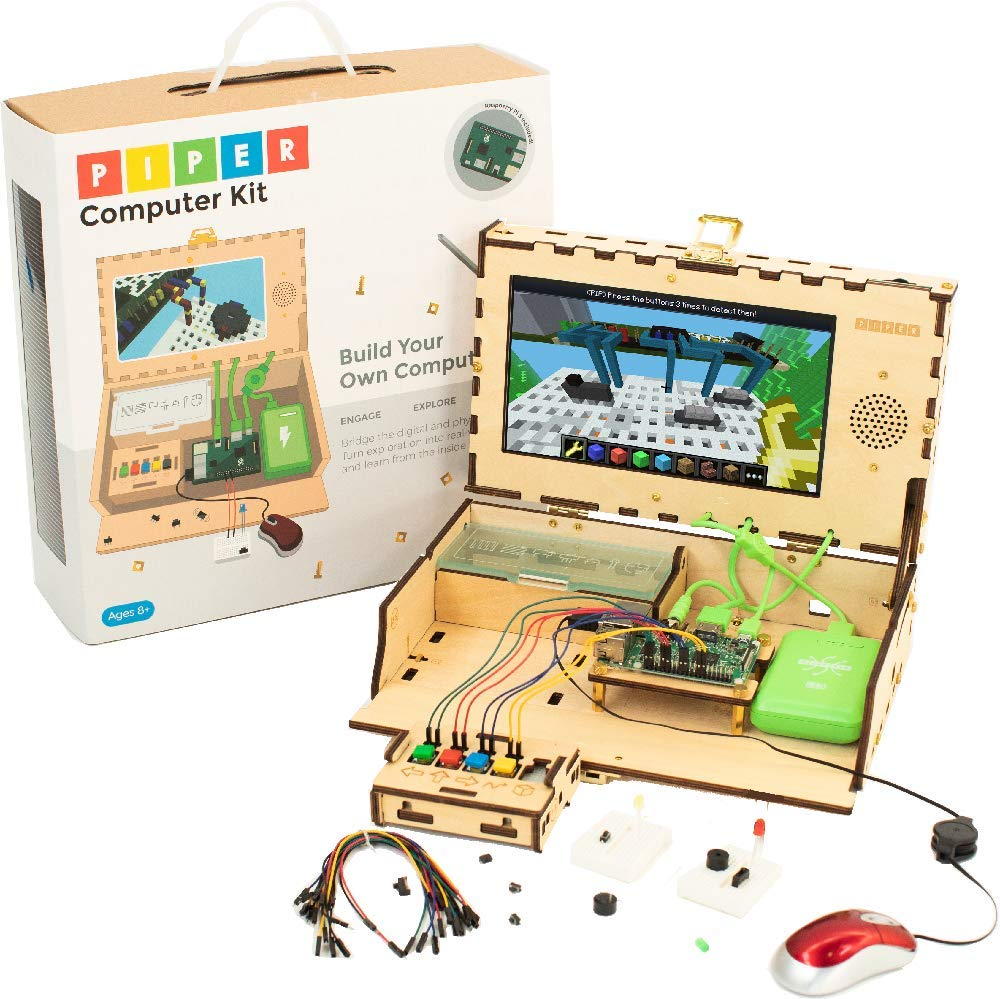 Piper Computer Kit 2 - Teach Kids to Code - Hands On STEM Learning Toy with Minecraft: Raspberry Pi (New) by Piper (Image #1)