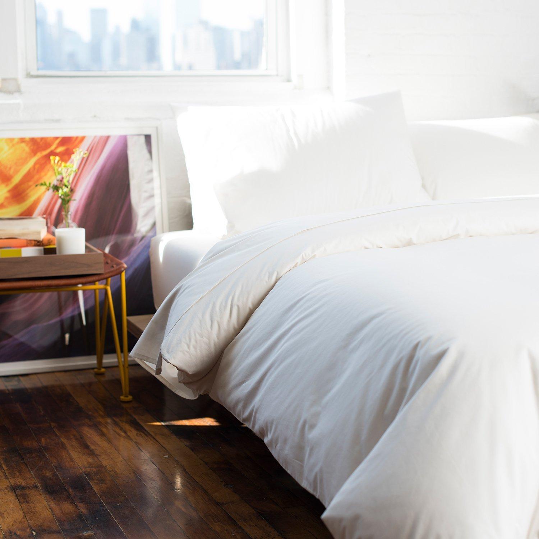 Brooklinen Luxe Duvet Cover - 100% Long Staple Cotton - Full/Queen by Brooklinen (Image #2)