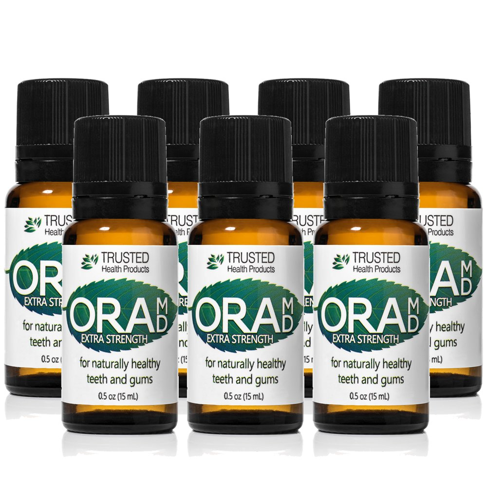 OraMD Extra Strength, Natural Toothpaste - Fresh Mint 7 Bottles