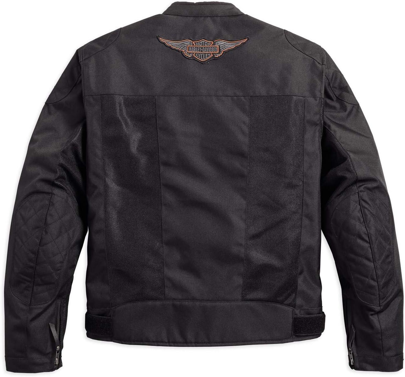 HARLEY-DAVIDSON Bar /& Shield Logo Mesh Riding Jacke XL 98162-17EM