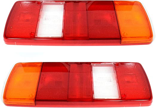 2x Atego Lichtscheibe Rücklicht Rückleuchte Heckleuchte E4 Auto