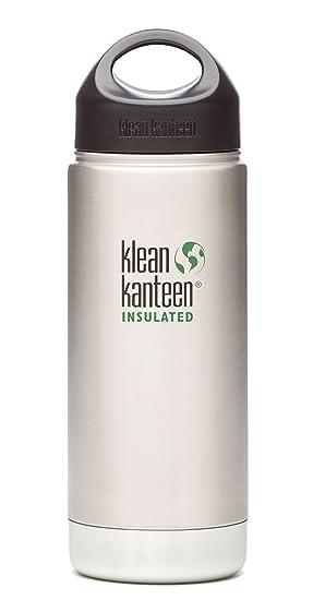 Klean Kanteen - Bidón de boca ancha aislado con botella de ...