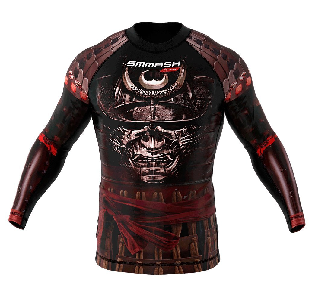 Image of SMMASH Long Sleeve Rashguard SAMURAI