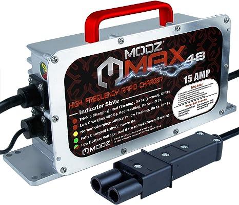 Amazon.com: MODZ Max48 15 AMP Yamaha G19 - Cargador de ...