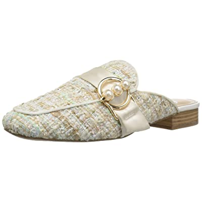 Brand - The Fix Women's Dafnee Loafer Slide with Pearl Buckle: Shoes