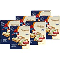 Atkins Low Carb, High Fibre Crispbread, Multipack 100 g (Pack of 6)
