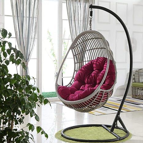 Mona43Henry Swing Hanging Basket Cojín de asiento, espesar ...