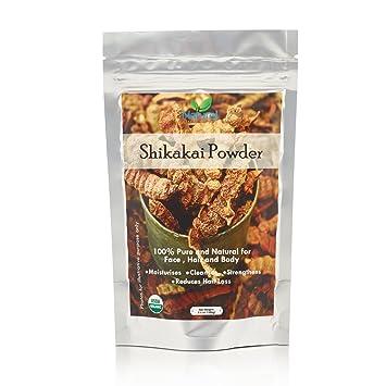 Alcohol, en cualquier momento Shikakai powder- 100 mm – USDA Certificado Orgánico, Halal