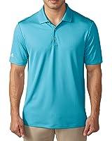 Adidas Golf Men's Performance Polo Shirt - US L - Blue Glow