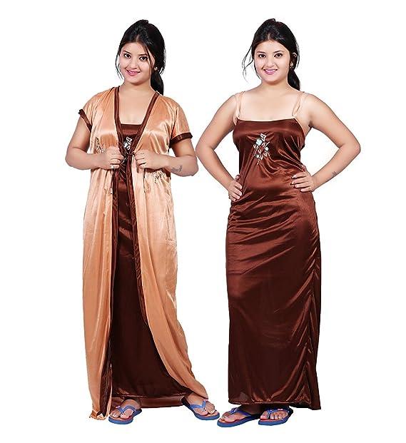 ccfb399724e Bailey Women s Satin Night Dress (BAILEY0154