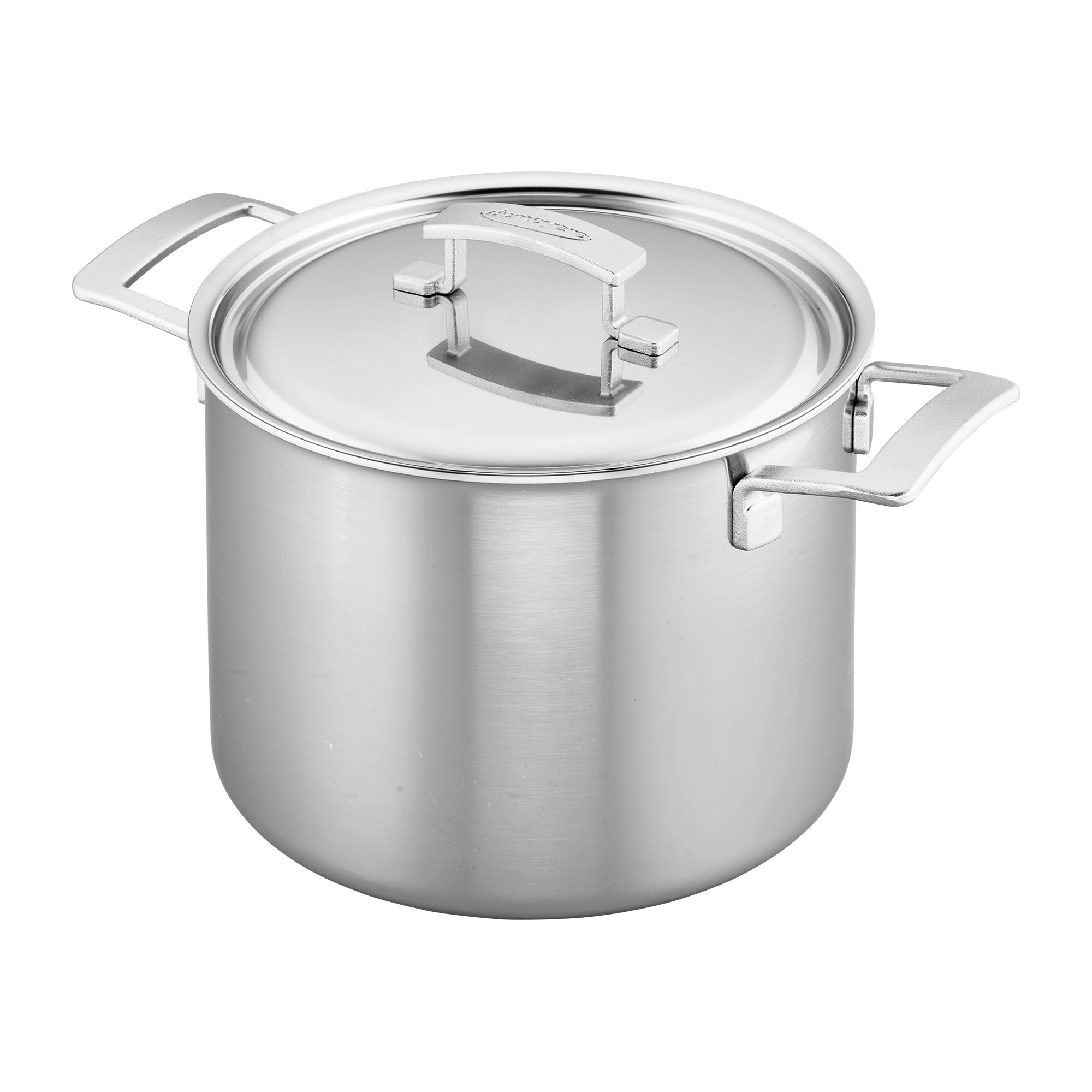 Demeyere Industry 5-Ply 8-qt Stainless Steel Stock Pot