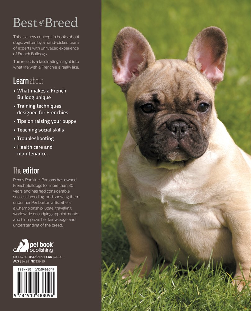 French Bulldog Best Of Breed Amazon Co Uk Penny Rankine Parsons