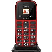 eléfono Móvil Funker - C65 Rojo Easy Plus