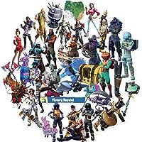 REZAUP Gaming Stickers Pack (40 stuks), Populaire Skins Sticker Set voor Kinderen, Gamer Volwassenen Tieners Jongens en…