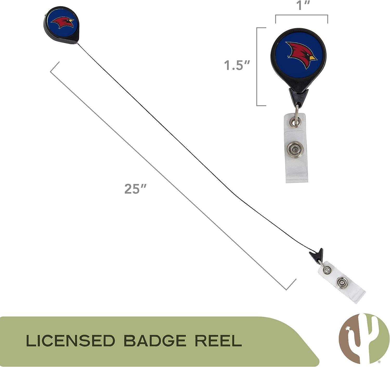 Saginaw Valley State University Retractable NCAA Badge Holder Ticket Clip Reel ID
