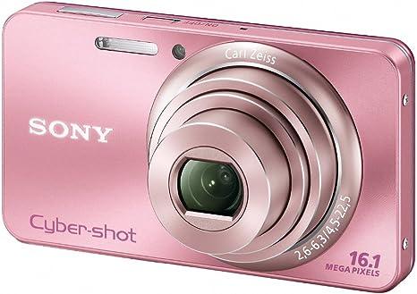Sony Dsc W570p Digitalkamera 2 7 Zoll Pink Kamera