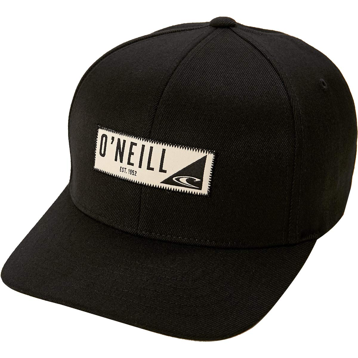 O'Neill Men's Hawthorne Flexfit Hats,Large/X-Large,Black