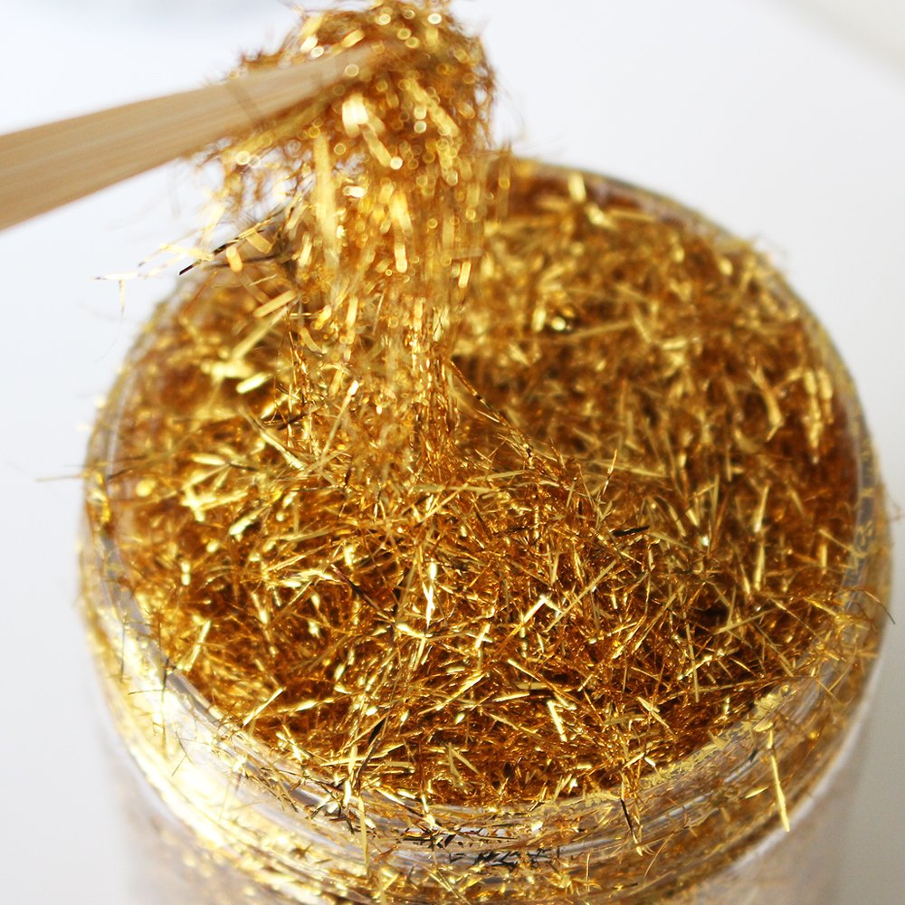 A new gold leaf decoration product Taiwan Gold leaf// foil wire gilding gilded painting and glass painting,