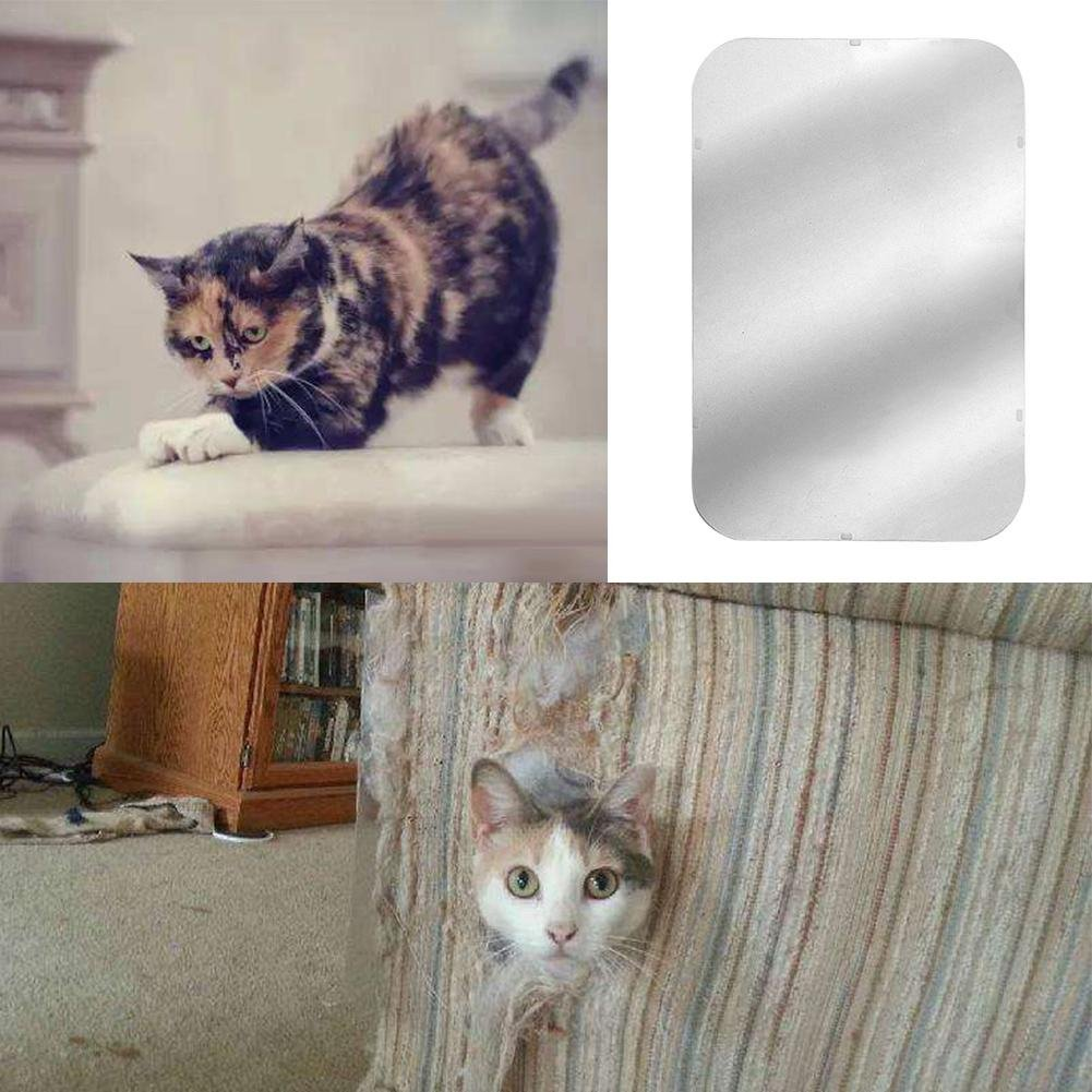 Yunn 2PCS / Set Cat - Sofá antiarañazos, Protector de Muebles - Gato Scratching Couch Guard con Almohadilla autoadhesiva, Protector de Muebles de ...