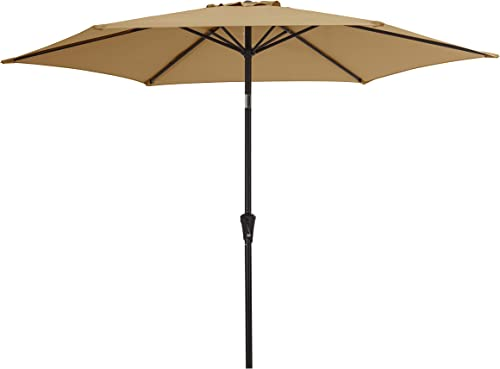 Amazon Basics Outdoor Market Patio Steel Umbrella
