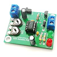Rk Education 555 Astable Timer Project PCB Self Build Kit