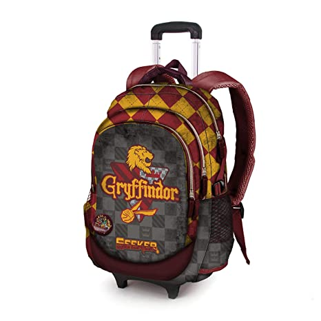 Karactermania Harry Potter Quidditch Gryffindor-Mochila Running HS con Carro Mochila Tipo Casual, 53