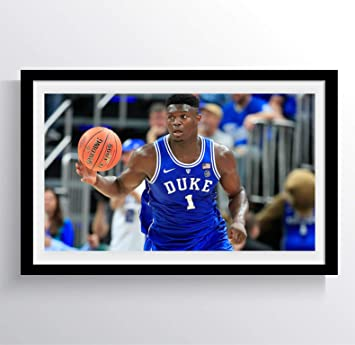 Zion Williamson New Orleans Pelicans Duke Basketball Nba Poster Mural Urban 17 X 30 Archival Ink In Glossy Paper Nba02