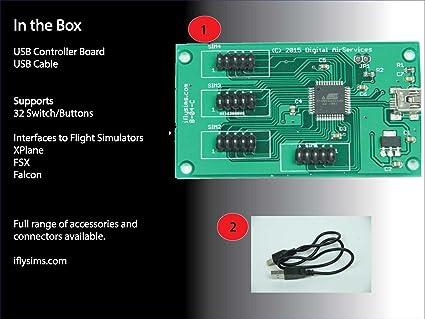 Amazon com: Flight Simulator Controller Board: Video Games
