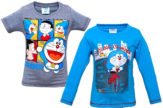 a6322af18 BOYS CHARACTER TSHIRT PACK OF 2: Amazon.in: Clothing & Accessories