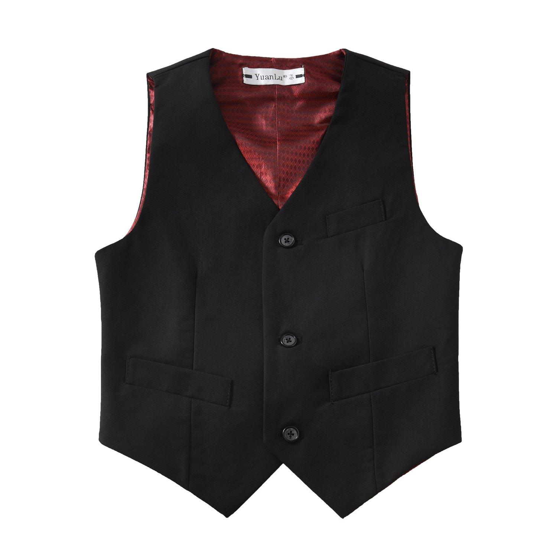 Amazon.com: YuanLu - Conjunto de traje formal para niño con ...