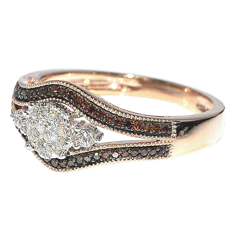 3cttw Cognac Engagement  Ring (033cttw)  Amazon
