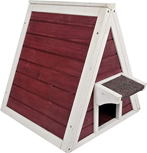 Petsfit Outdoor Triangle Cat House