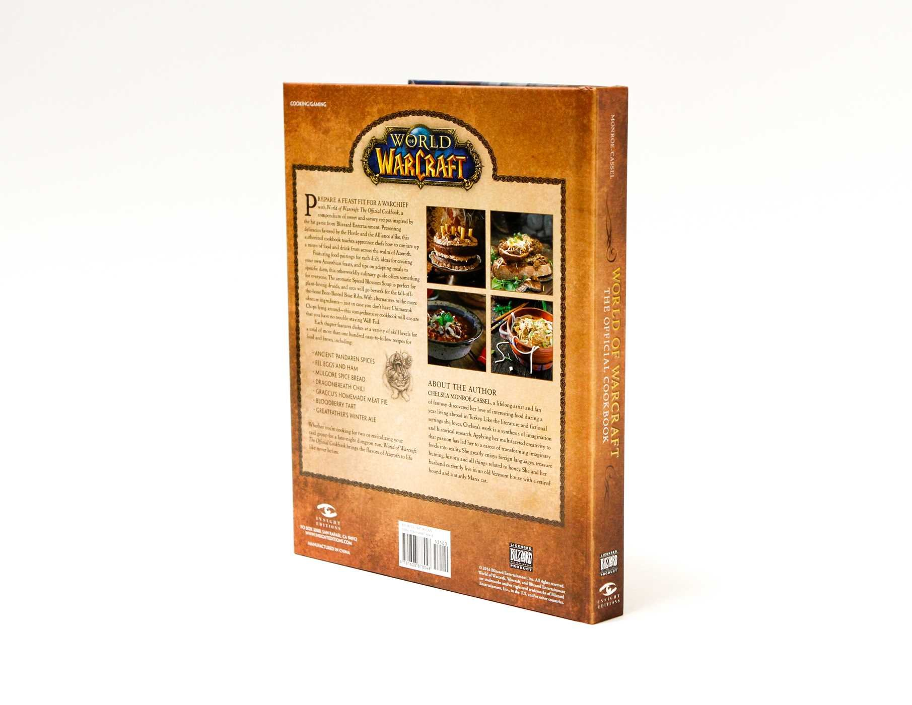 World Of Warcraft The Official Cookbook Chelsea Monroe Cassel