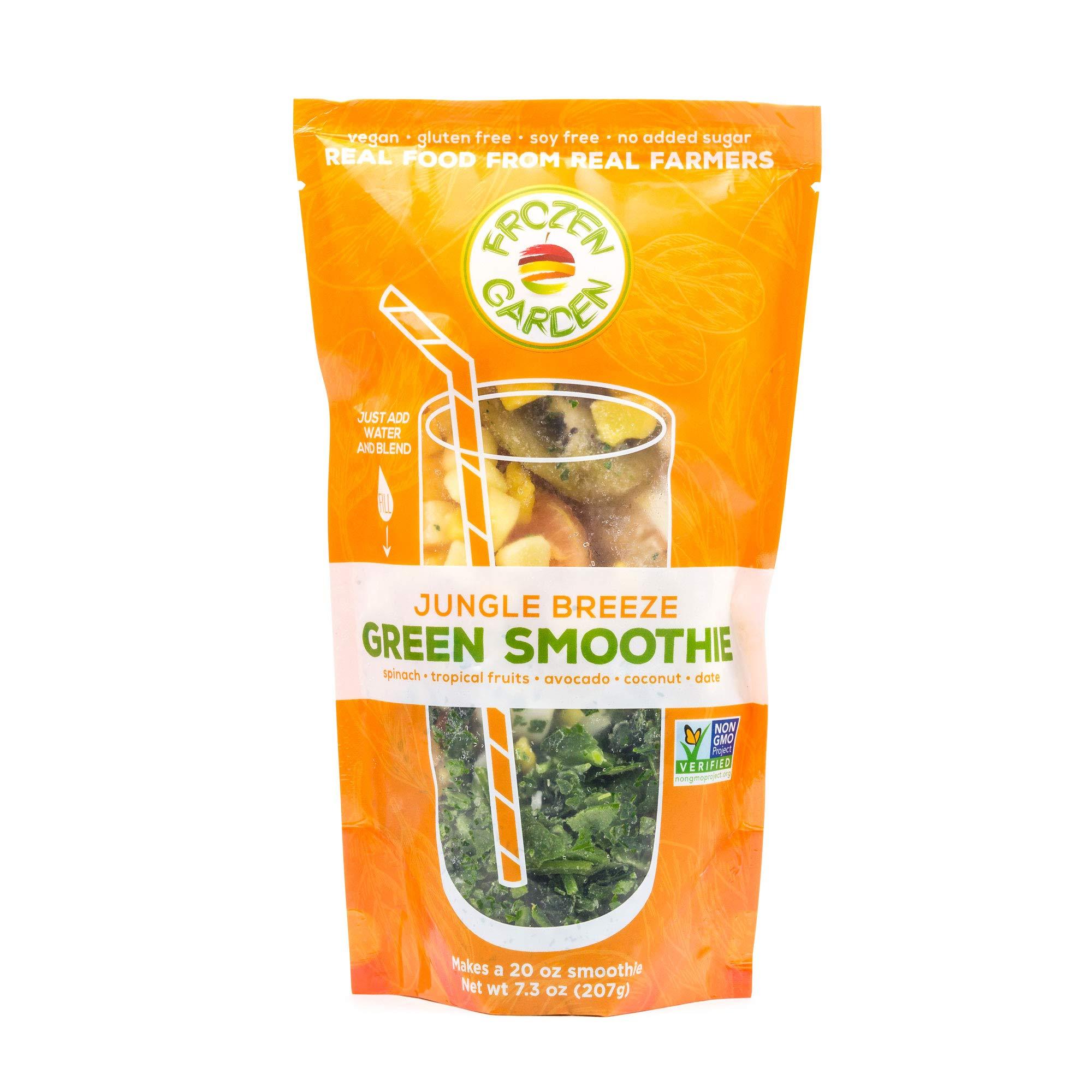 Frozen Garden Green Smoothie Pack - Jungle Breeze (16)