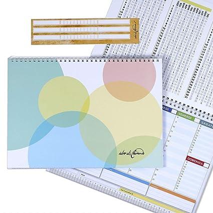Campus Shine Round - Planner Semanal 30 X 21 - Agenda Planner de ...