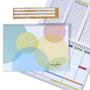 Campus Shine Round - Planner Semanal 30 X 21 - Agenda ...