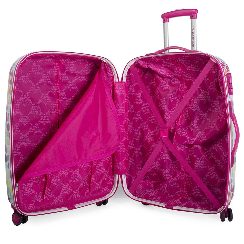 ea86ef18a11 AGATHA RUIZ DE LA PRADA - 68400 Set of 2 Trolley suitcases