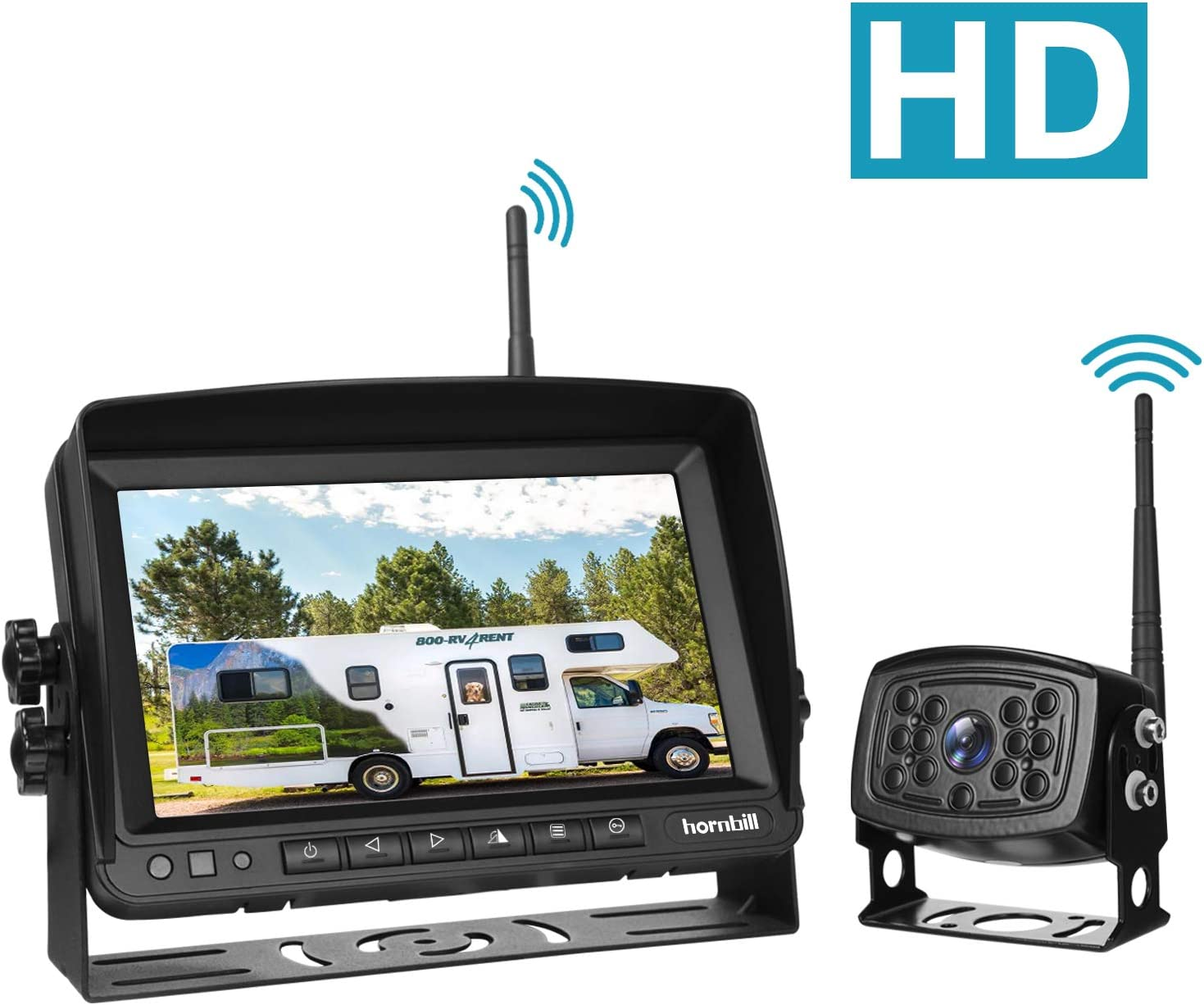Amazon coupon code for Wireless Backup Camera with Monitor System