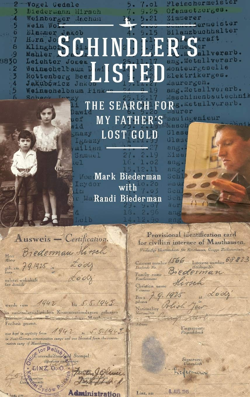 Schindler's Listed: The Search for My Father's Lost Gold (Holocaust: History and Literature, Ethics and Philosophy) by Academic Studies Press