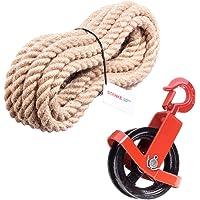 Seilwerk STANKE 150 mm Polea + Gancho