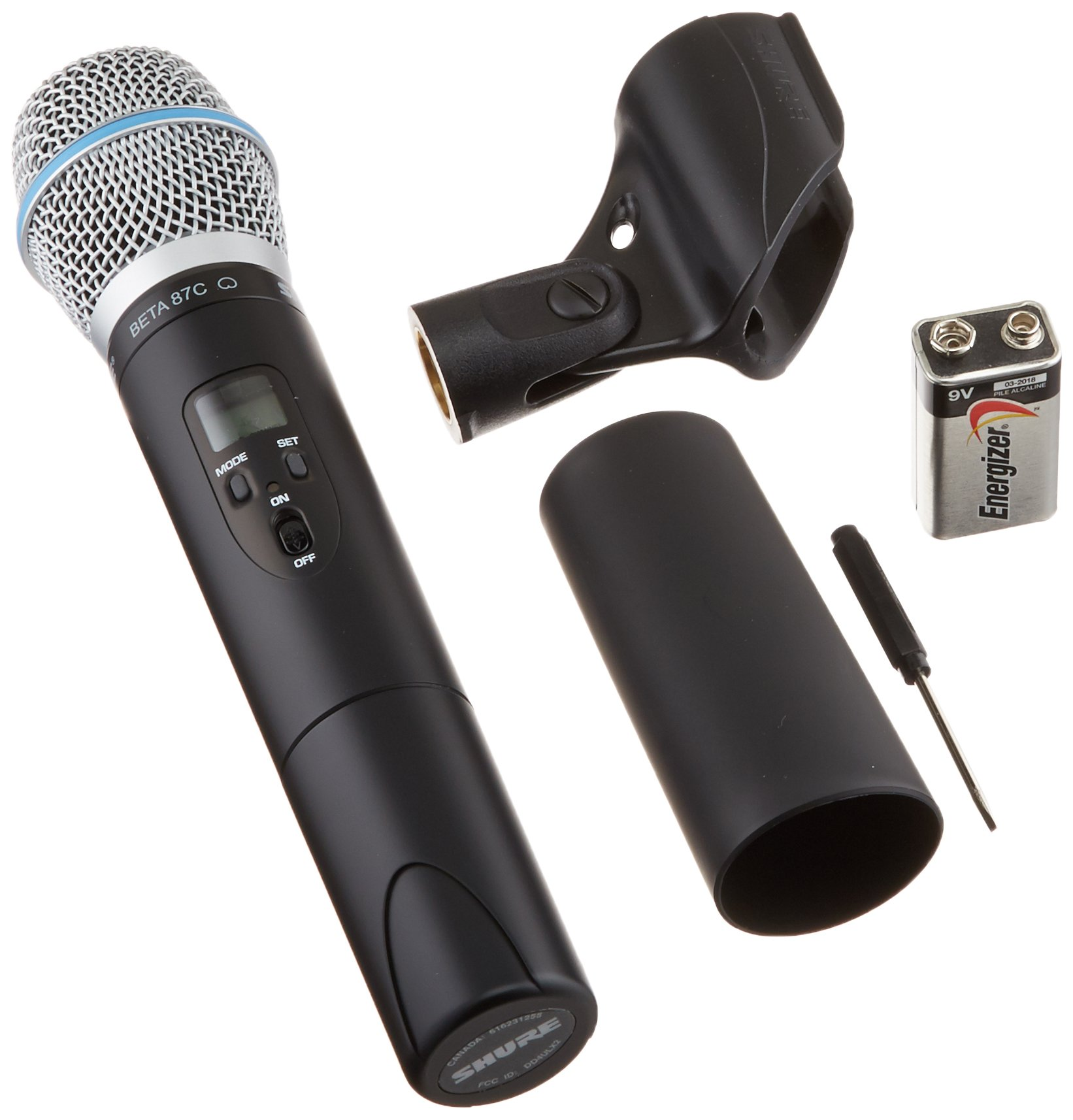 Microfono Shure ULX2/BETA87C with Beta 87C , J1...