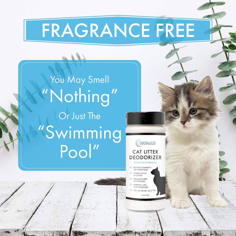 NonScents Odor Control Cat Litter Deodorizer - Professional Strength
