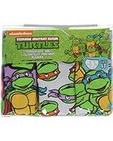 Teenage Mutant Ninja Turtles TMNT Little Boys' Toddler Cartoon Faces 3-Pack Briefs