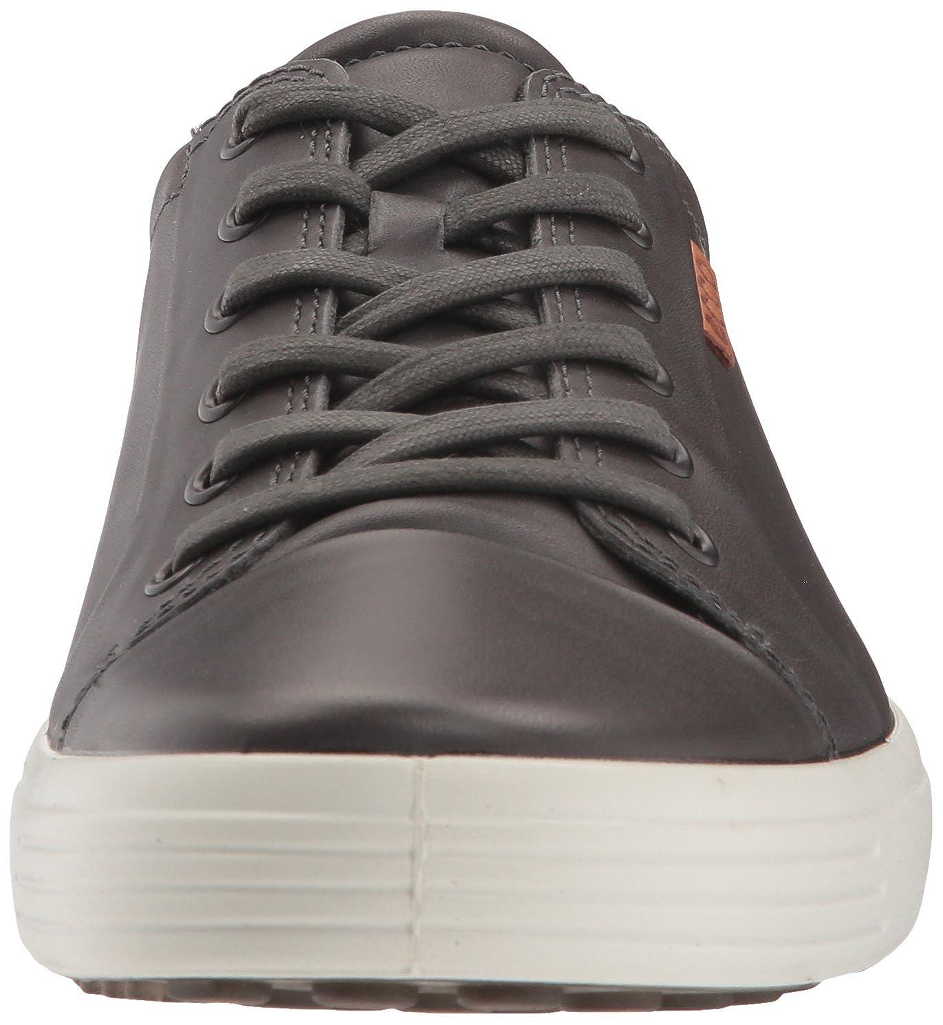 ECCO Men's Soft 7 Tie Sneaker, Magnet, 47 M EU (13 13.5 US