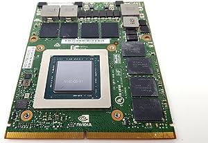 Dell Precision M6800 7710 nVidia Quadro M5000M 8GB DDR5 Video Card 1JY2V 01JY2V